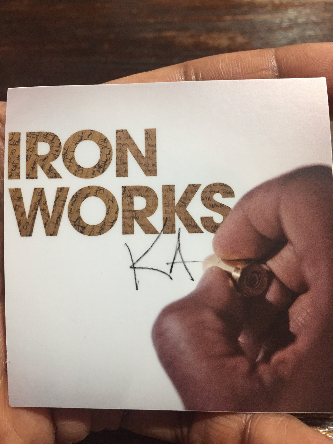 Iron Works Sticker