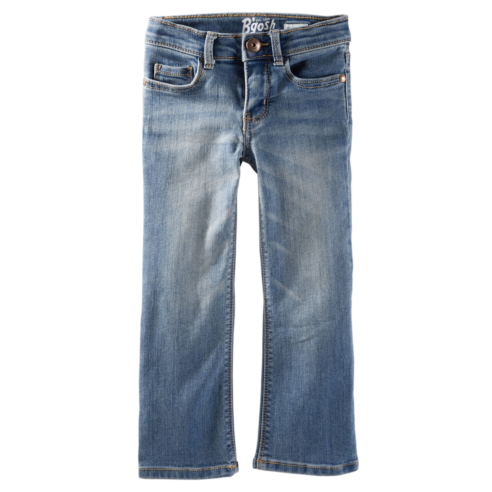 Soft Bootcut Jeans - Upstate Blue
