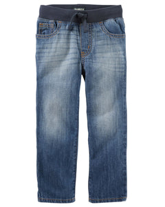 Pull-On Jeans - Ultra Indigo Wash