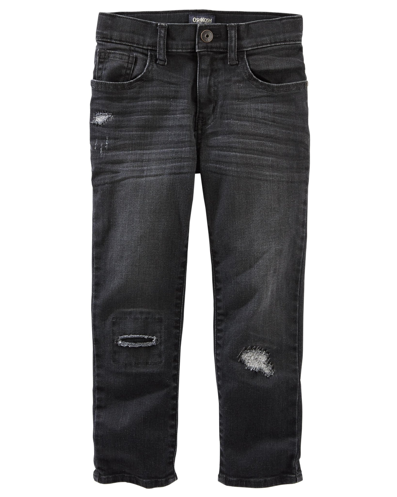 Slim Stretch Jeans - Asteroid Grey Wash