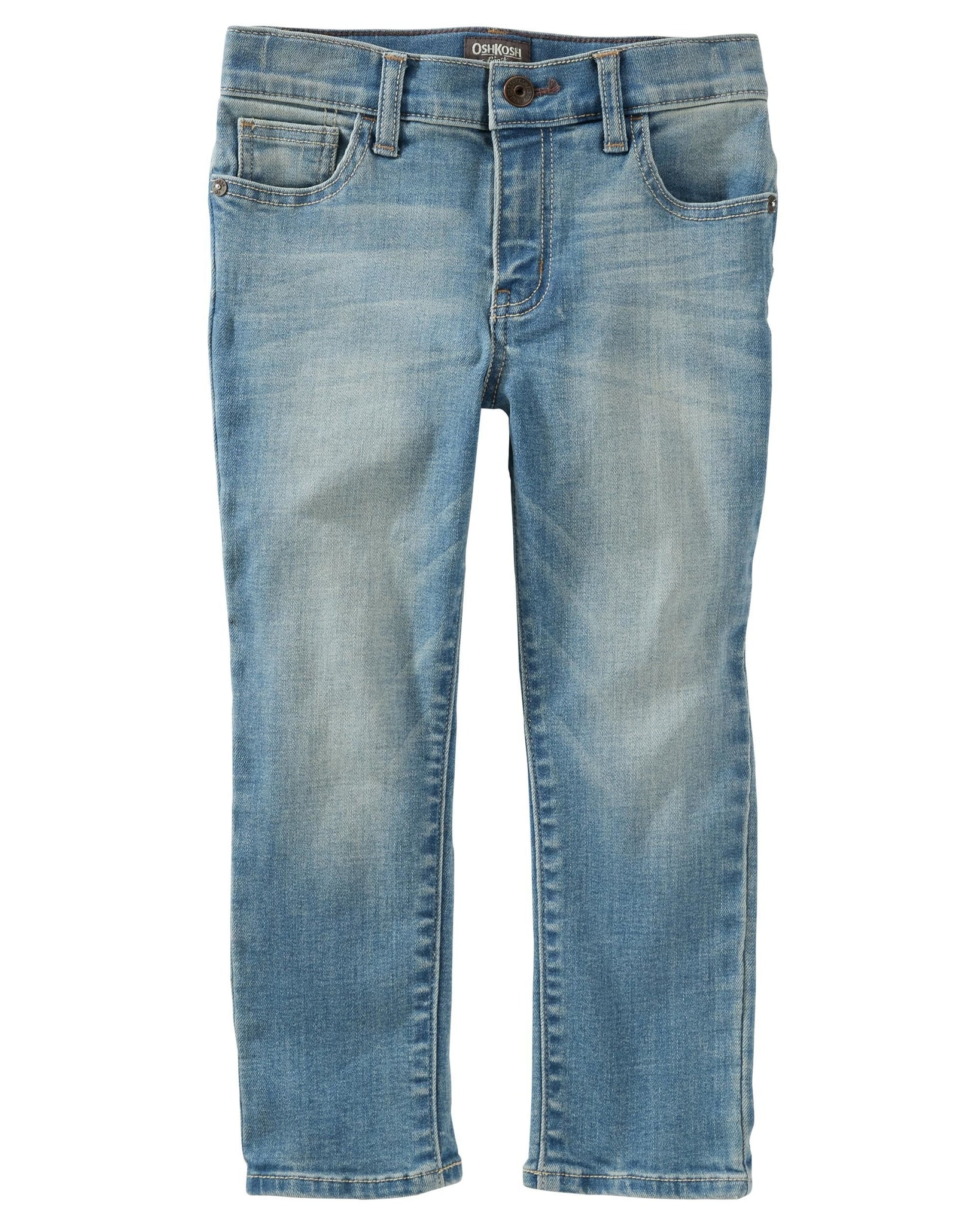 Slim Fit Stretch Jeans - Solar Indigo