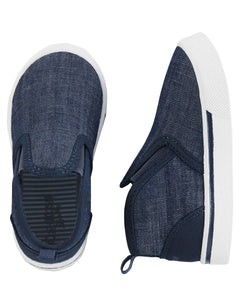 Chambray Slip-On Sneaker