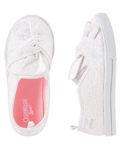 Eyelet Slip-On Shoes