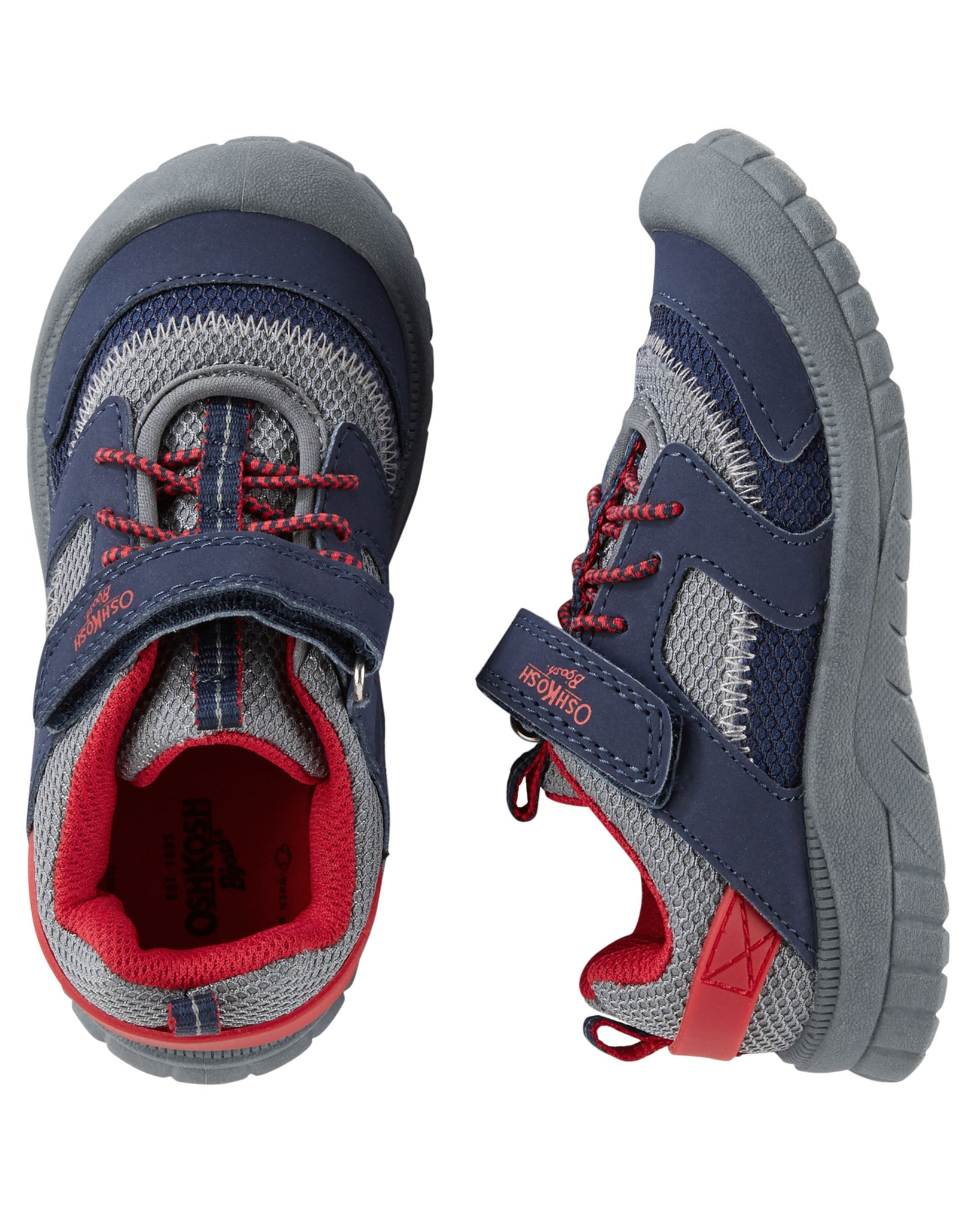 Bump Toe Athletic Sneakers