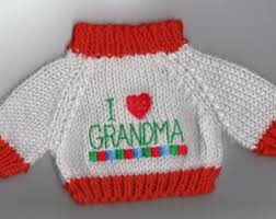 I Love Grandma Jumper