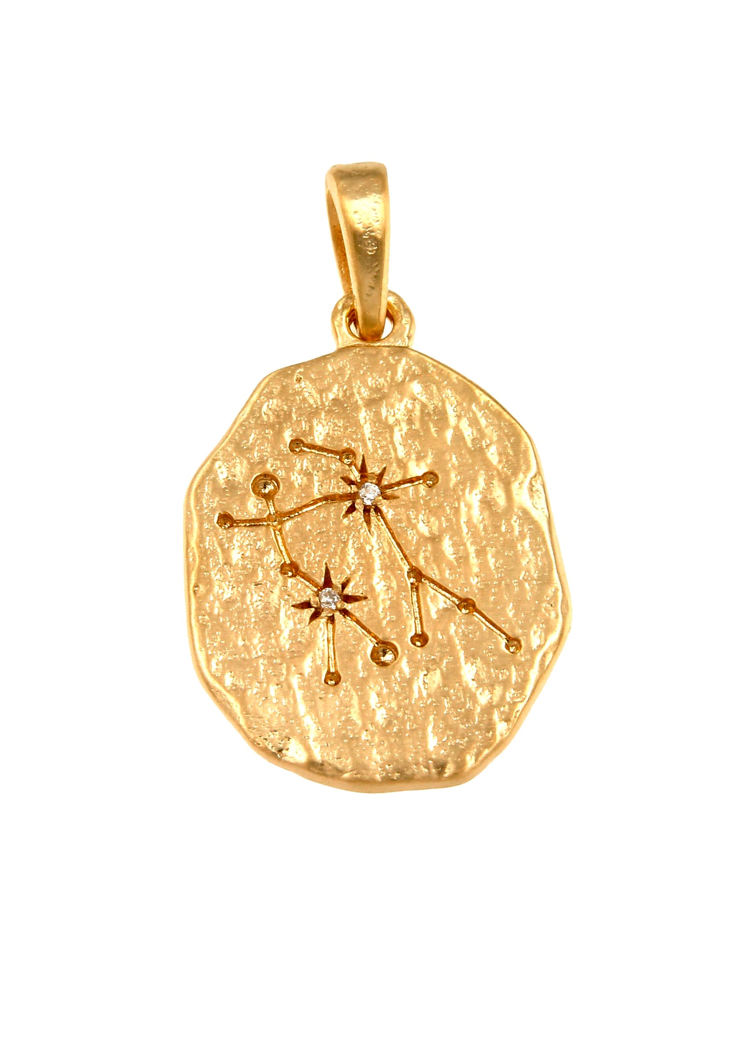 Zodiac Star Constellation Pendant