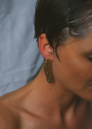 Wabi Sabi Rainbow Earrings