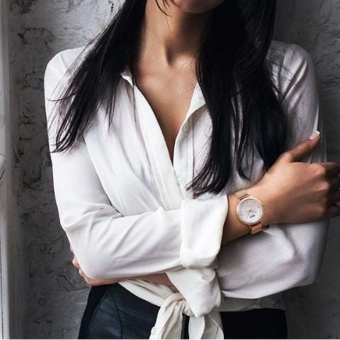 how to wear a watch for women