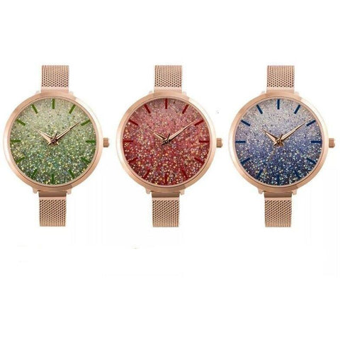 crystal watch women