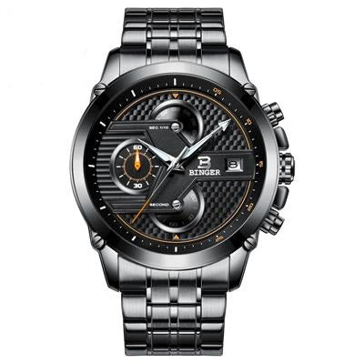 waterproof black watch
