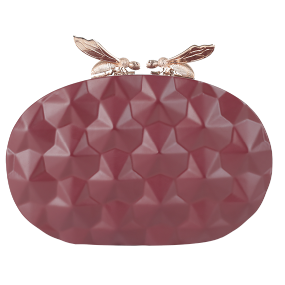 Duet Luxury Colony Ovals Clutch