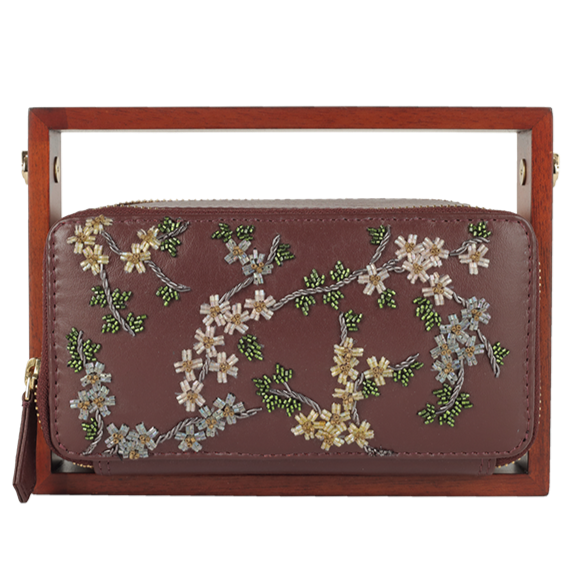 Duet Luxury Colony Rectangle Clutch