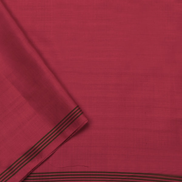 Handwoven Crimson Single Ikat Patola Silk Sari - WIIPATANARIDNAM820718 - Blouse View