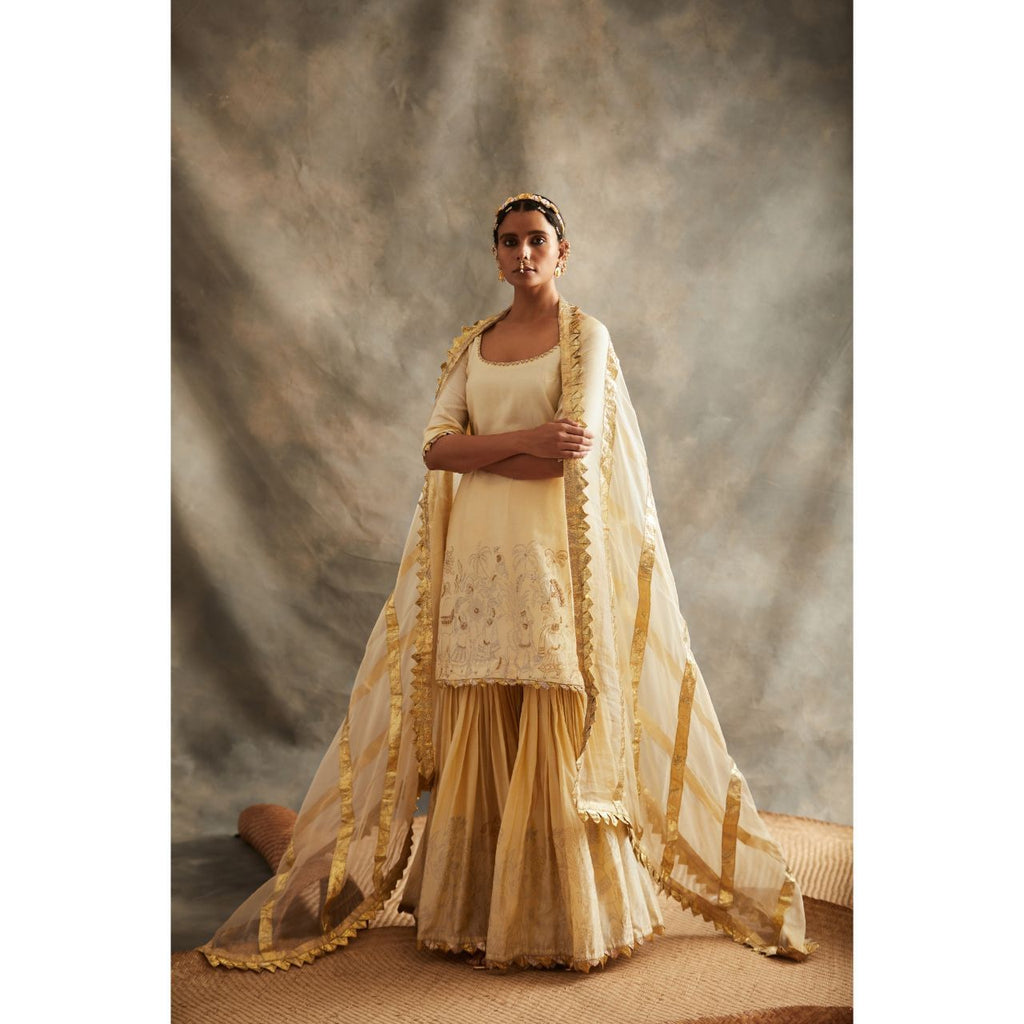 ITRH Sharara Suit Set - WeaveinIndia
