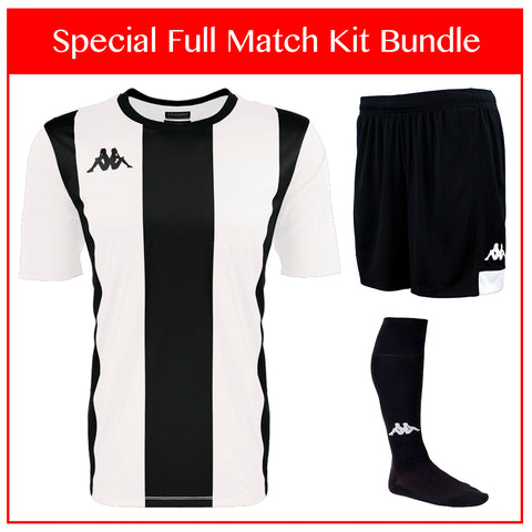 Kappa Caserne Full Match Kit Bundle