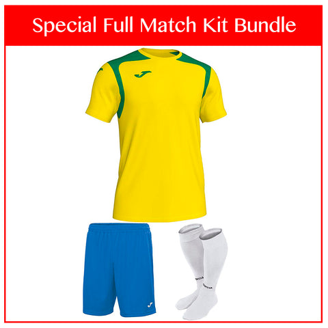 Joma Champion V Full Match Kit Bundle