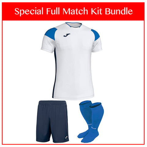 Joma Crew III Full Match Kit Bundle