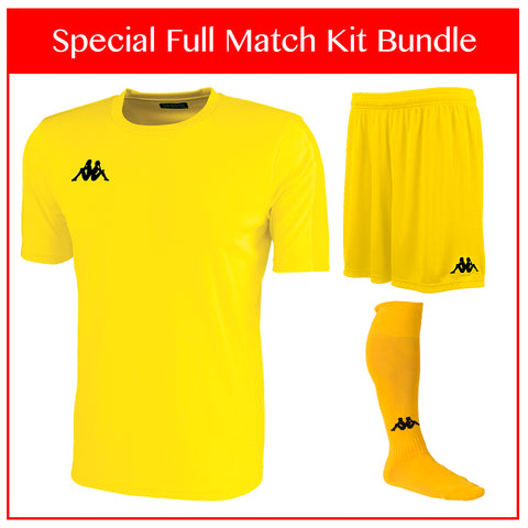 Kappa Rovigo Full Match Kit Bundle