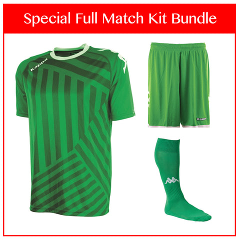Kappa Temporio Full Match Kit Bundle