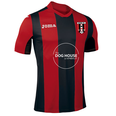 Kimberley Miners Welfare S/S Home Shirt (Juniors & Adults)