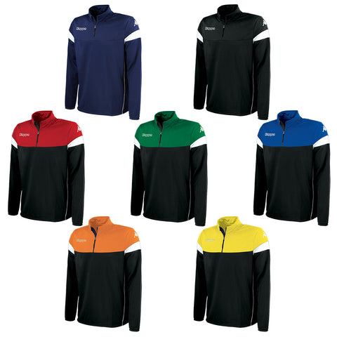 Kappa Novare Training 1/4 Zip Sweatshirt (Juniors & Adults)