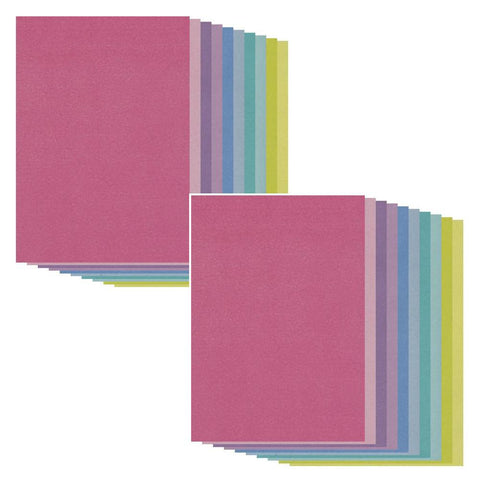 Double Pack A4 Two Tone Parchment Mix Pack (40 Sheets) Bundle
