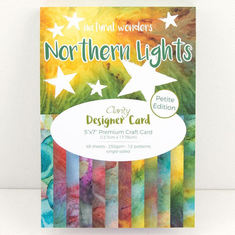 "Northern Lights <br/> Designer Card Pack 5"" x 7"" - Petite Edition"