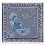 Beauty & Hope Word Chains Groovi Border Plate (Set GRO-WO-40576-XX)
