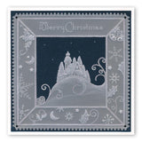Silent Night & Jingle Bells <br/>A5 Square Groovi Plate Set