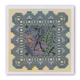 Leafwing Fairy <br/>A6 Square Groovi Baby Plate
