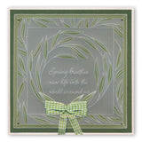Feathered Friends & Willowy Wreath <br/>A5 Square Groovi Plate Set
