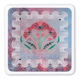 Frilly Square & Friends <br/>A5 Square Groovi Plate Set