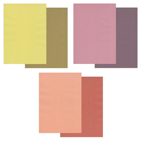 Tuscany Bundle <br/>Groovi Two Tone Parchment Paper A4 <br/>+ FREE Bottle Green/Cranberry Crush Parchment!