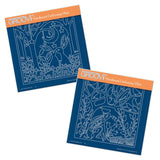 Make a Wish & Hare in the Glade <br/>A5 Square Groovi Plate Set