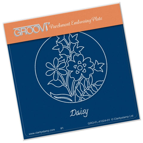 Daisy & Friends Round <br/>A6 Square Groovi Baby Plate