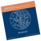 Periwinkle & Friends Round <br/>A6 Square Groovi Baby Plate