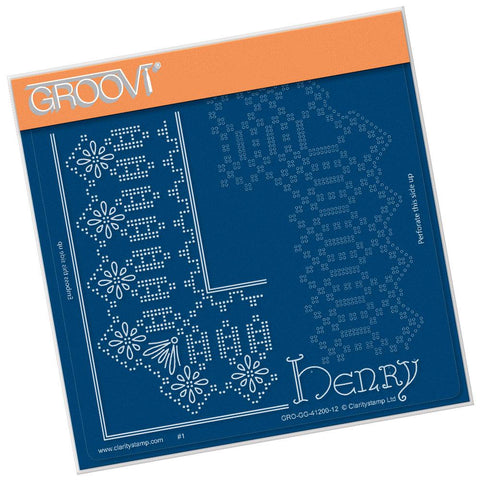 King Henry Lace Duet <br/>A5 Square Groovi Piercing Grid