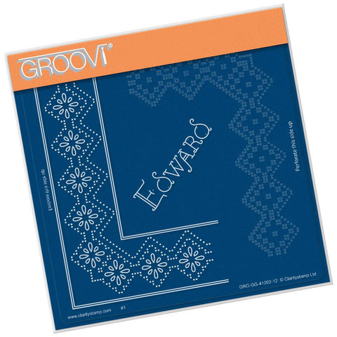 King Edward Lace Duet <br/>A5 Square Groovi Piercing Grid