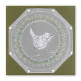 Wrens <br/>A6 Square Groovi Baby Plate Set