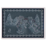 Jayne's Winter Scene - Children <br/>A4 Square Groovi Plate