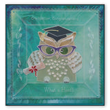 Linda's Owl Accessories <br/>A4 Square Groovi Tem-plate <br/>(Set GRO-TE-40910-15)