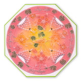 Linda's Flowers & Lace Quartet <br/>A5 Square Groovi Plate Set