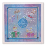 Linda's Build a Snowlady <br/>A5 Square Groovi Plate
