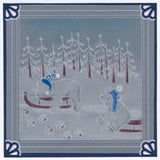 Linda's Penguins, Seals & Polar Bears Trio <br/>A5 Square Groovi Plate Set
