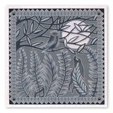 Hare and the Owl <br/>A5 Square Groovi Plate