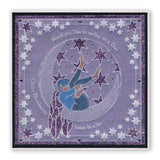 Moonfairy & Funky Snowflakes <br/>A5 Square Groovi Plate Set