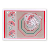 Nested Octagons & Tags <br/>A5 Square & Groovi Border Plate Set