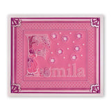 Barbara's Nursery Rhyme Alphabet - A6 Square Groovi Baby Plate Set + Rhyme-Time ii Book, Poster & Groovi Baby Folder