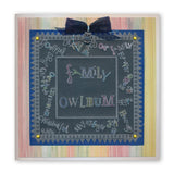 Dream & Congratulations Mini Word Chains <br/>Groovi Border Plate