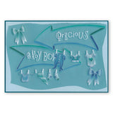 My Art Word Chain & Arrows <br/>Groovi Border Plate <br/>(Set GRO-WO-40576-XX)